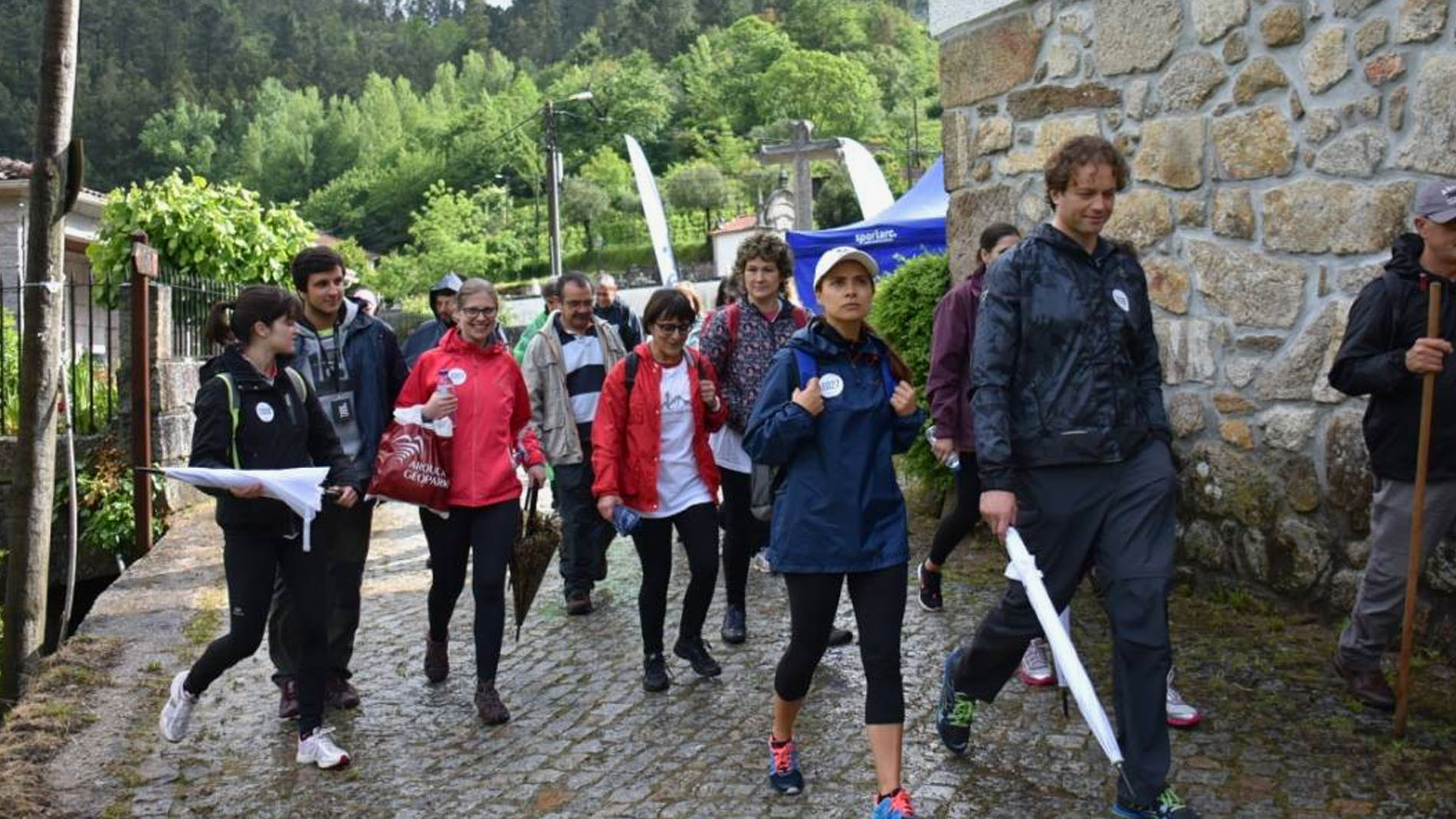 Arouca Pedestrian Trails arranca abençoado!
